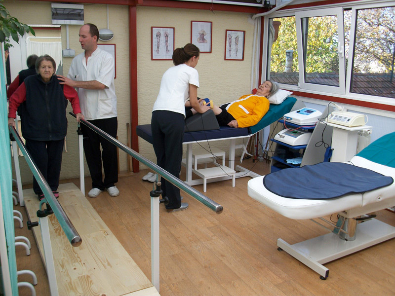 U domu za stare Meliorvita je obezbedjena fizikalna terapija za sve korisnike doma